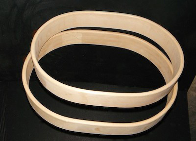 Oval Frames by Cowichan Frames
